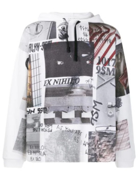 Graphic Print Jersey Hoody by 1017 Alyx 9 Sm