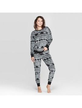 Women's Disney Pajama Set   Gray by Disney