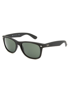 Ray Ban New Wayfarer Matte Black Sunglasses by Ray Ban