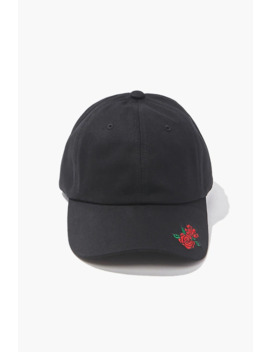 Rose Graphic Dad Cap by Forever 21