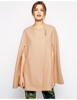 Ted Baker Minimalist Cape by Ted Baker