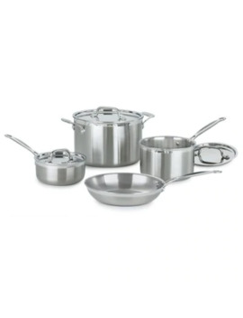 Cuisinart® 7 Piece Multi Clad Pro Stainless Steel Cookware Set by Bed Bath And Beyond