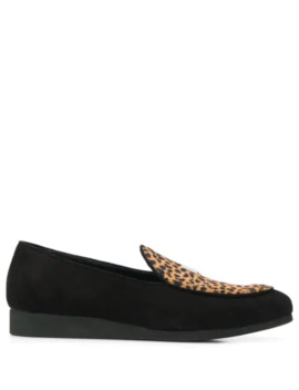 Textured Animal Print Loafers by 1017 Alyx 9 Sm
