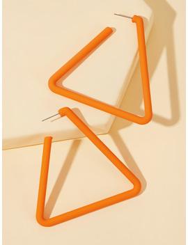 Clous D'oreilles Triangulaires 1 Paire by Sheinside