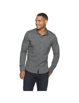Men's Marc Anthony Slim Fit Soft Touch Button Down Shirt by Marc Anthony