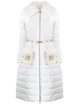 Padded Zipped Coat by Elisabetta Franchi