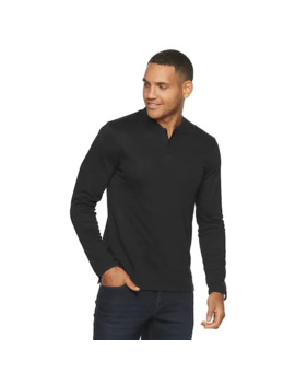 Men's Marc Anthony Long Sleeve Slim Fit Luxury Henley by Marc Anthony