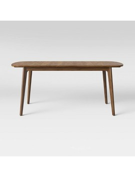 Astrid Mid Century Dining Table With Extension Leaf Brown   Project 62™ by Shop This Collection