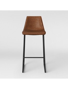 Bowden Faux Leather Barstool   Project 62™ by Shop Collections