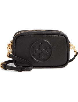 Perry Bomb Leather Crossbody Bag by Tory Burch