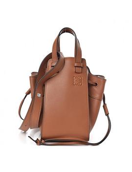 Loewe Calfskin Mini Hammock Shoulder Bag Tan by Loewe