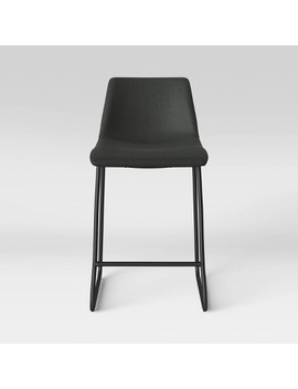 Bowden Faux Leather Counter Stool   Project 62™ by Shop Collections