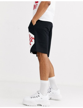 Love Moschino Logo Jersey Shorts by Love Moschino