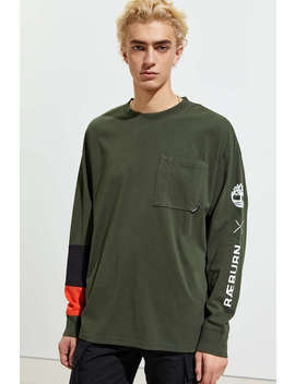 Timberland X Christopher Raeburn Pieced Long Sleeve Tee by Timberland