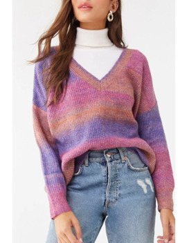 Marled Ombre Sweater by Forever 21