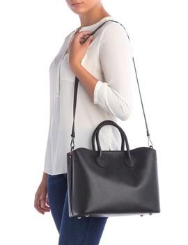 Leather Top Handle Shoulder Bag by Isabella Rhea