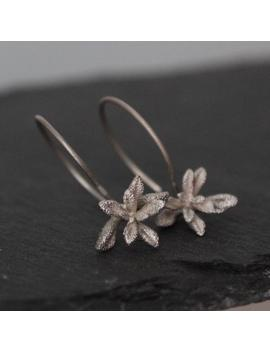 Succulent Earrings , Siver Succulent Jewelry , Flower Earrings , Nature Cast Earrings , Gift For Mom Botanical Jewelry by Etsy