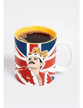 Freddie Mercury Ceramic Mug by Modcloth