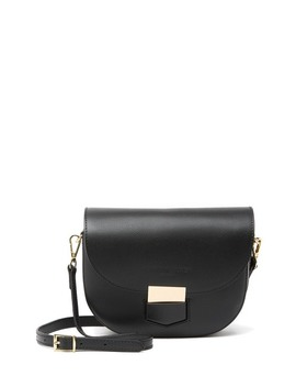 Ines Leather Saddle Bag by Christian Laurier