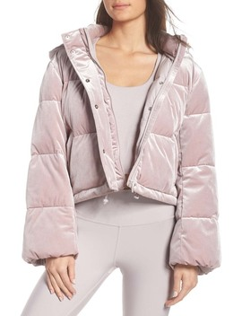Velvet Puffer Jacket by Alo