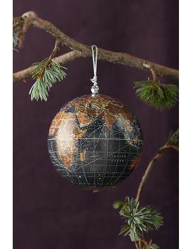 World Globe Ornament by Anthropologie