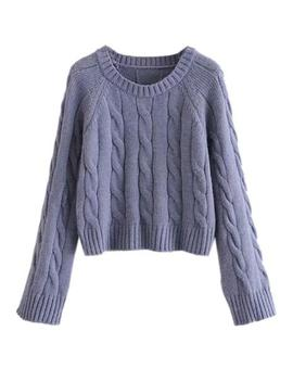 'glenda' Cable Knit Sweater (2 Colors) by Goodnight Macaroon