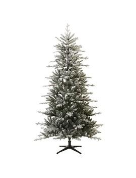 7ft Unlit Artificial Christmas Tree Flocked Balsam Fir   Wondershop™ by Wondershop