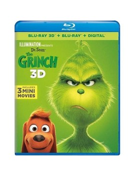 Dr. Seuss' The Grinch (Blu Ray) by Target