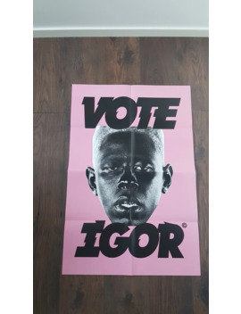 Vote Igor Poster by Odd Future  ×  Golf Wang  ×  Tyler The Creator  ×