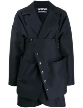 Layered Short Coat by Jacquemus