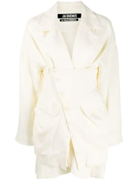 Layered Buttoned Blazer by Jacquemus