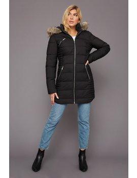 Puffer Longline Jacket by Urban Planet