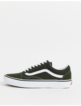 Vans – Old Skool – Gröna Sneakers by Vans