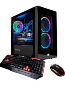 Gaming Desktop   Intel Core I3 9100 F   8 Gb Memory   Nvidia Ge Force Gtx 1650   1 Tb Hard Drive + 120 Gb Solid State Drive   Black by I Buypower