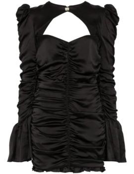 Al Capone Silk Mini Dress by De La Vali