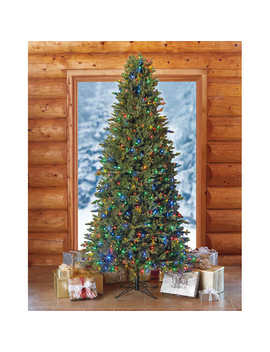 9' Slim Pre Lit Led Artificial Christmas Tree by Costco