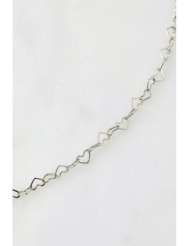 Mini Heart Choker Necklace by Urban Outfitters