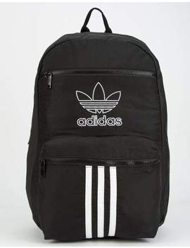Adidas National 3 Stripes Black Backpack by Adidas