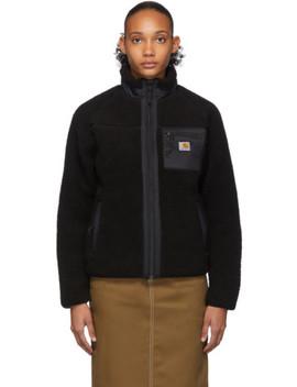 Black Prentis Liner Jacket by Carhartt Work In Progress