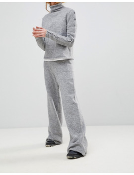Shae Alpcaca And Merino Wool Blend Lounge Trousers by Asos