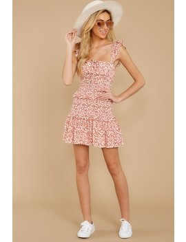 Look So Pretty Pink Multi Print Dress by Skylar Madison