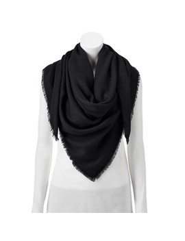 Women's Lc Lauren Conrad Solid Square Softy Scarf by Lc Lauren Conrad