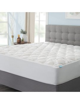 "Blandy 1.5"" Down Alternative Copper Infused Mattress Pad by Alwyn Home"