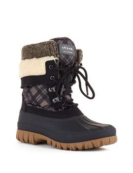 Creek Waterproof Faux Shearling Boot by Cougar