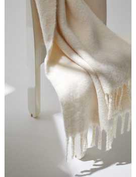 Gebreide Sjaal Met Franjes by Mango