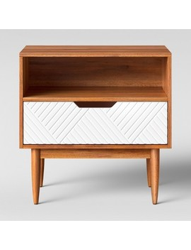 Touraco Nightstand White Brown   Opalhouse™ by Shop Collections