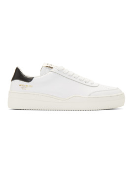 White & Black 0517 Sneakers by Article No.