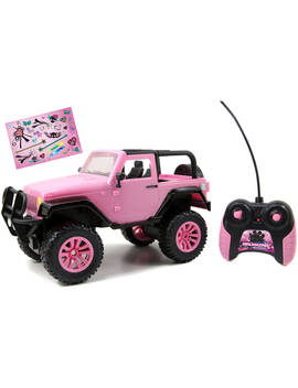Jada Toys Girl Mazing 1/16 Scale Remote Control Pink Jeep by Jada Toys
