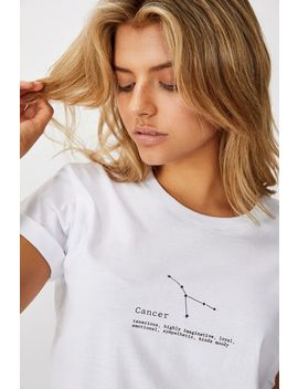 Classic Astrology T Shirt by Cotton On