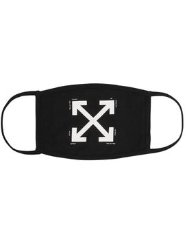 Off White Arrows Face Mask Black/White by Stock X